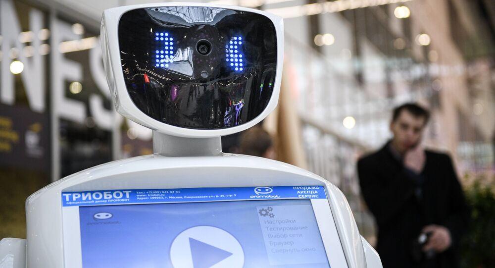 Promobot, robot russe