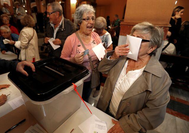Reférendum en Catalogne