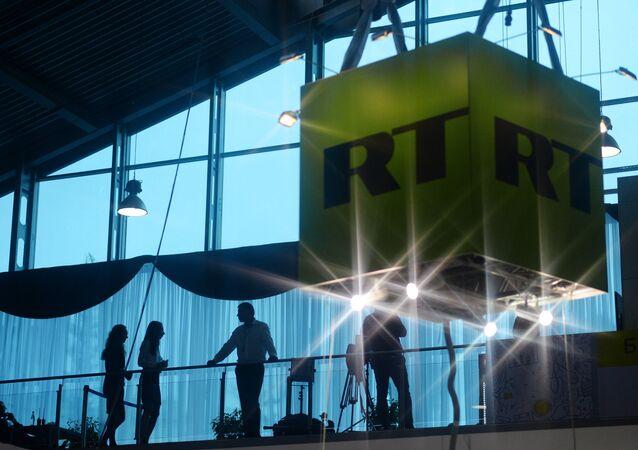 RT, le logo