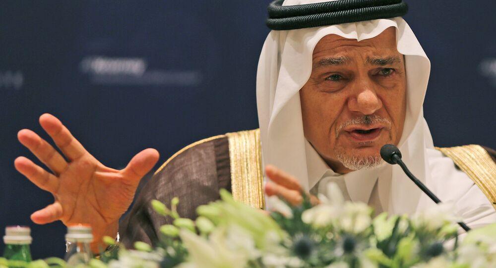 le Prince Tourki ben Fayçal Al Saoud