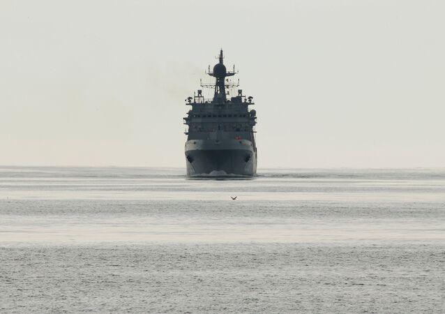 grand navire de débarquement russe