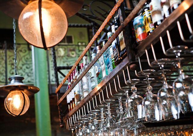 un bar