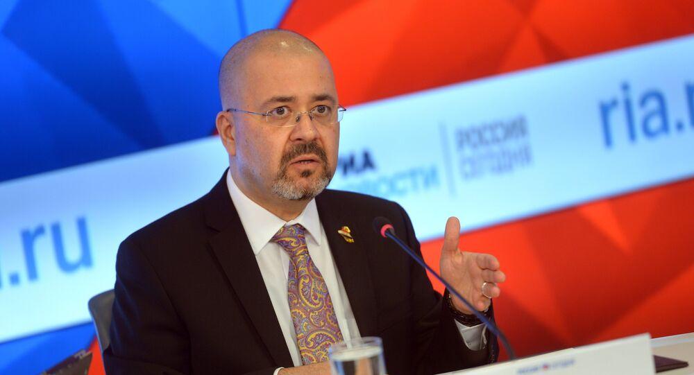 L'ambassadeur d'Irak en Russie Haidar Hadi