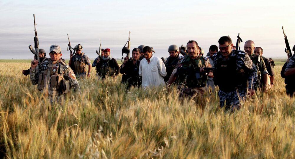 Des soldats irakiens