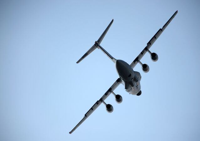 Un Iliouchine Il-76MD-90A