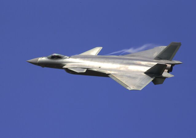 Le chasseur J-20 chinois