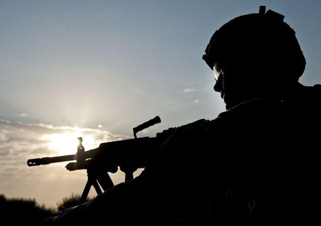 Un soldat US, image d'illustration