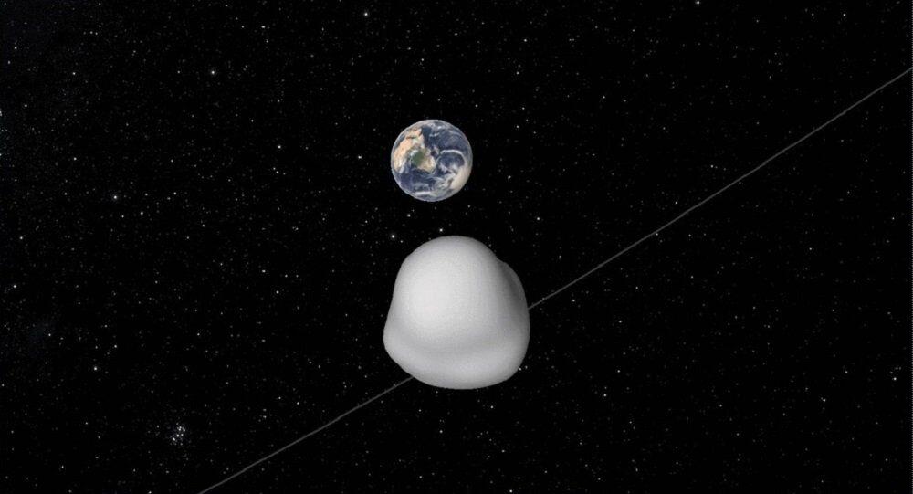 Astéroïde 2012 TC4 s'approche de la Terre