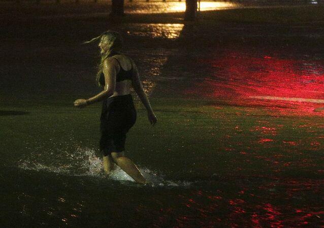 L'ouragan Nate arrive aux États-Unis