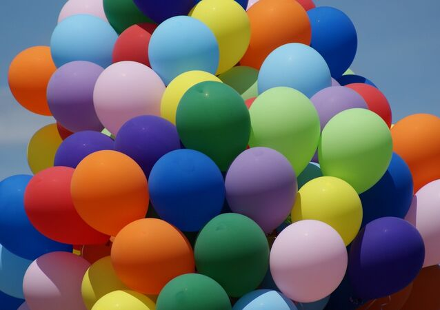 Des ballons. Image d'illustration