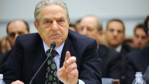 Soros Fund Management Chairman George Soros testifies on Capitol Hill in Washington (File) - Sputnik France