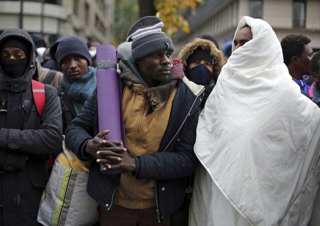 Migrants à Paris