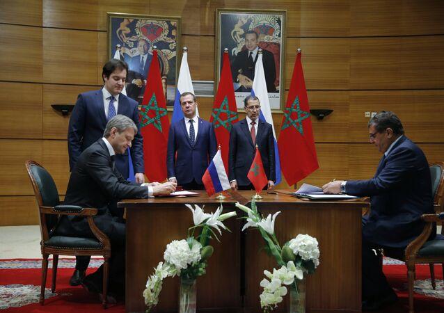 Les pourparlers russo-marocains de Rabat
