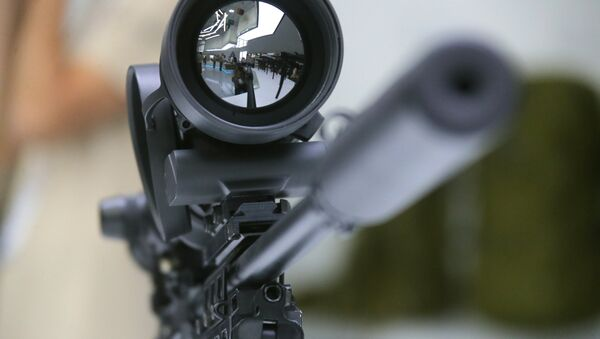 Un fusil Kalachnikov - Sputnik France