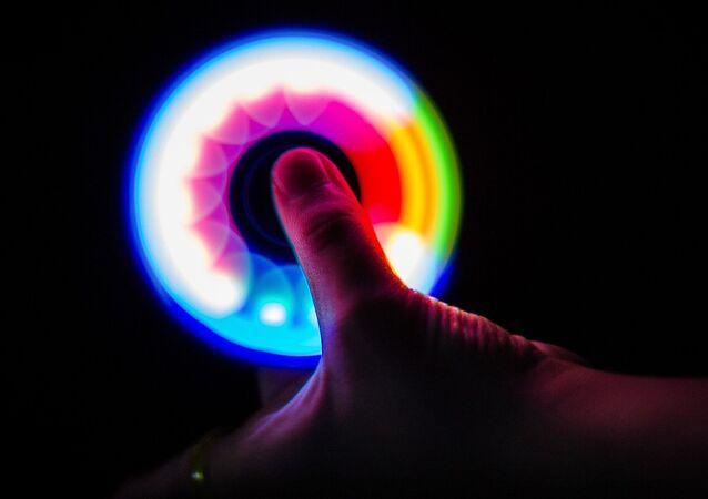 Hand spinner. Image d'illustration