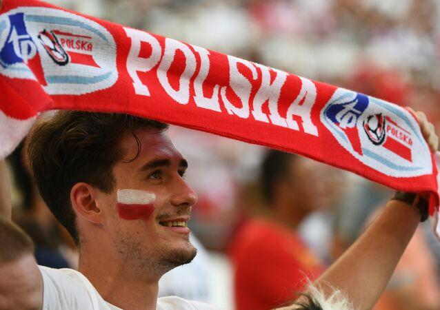 Un fan polonais