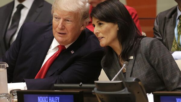Donald Trump Nikki Haley United Nations - Sputnik France