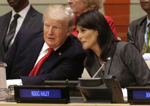 Donald Trump et Nikki Haley