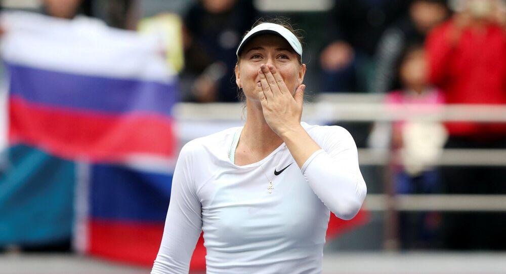 Pour la première fois depuis 2015, Sharapova reprend son titre de numéro 1 au tennis