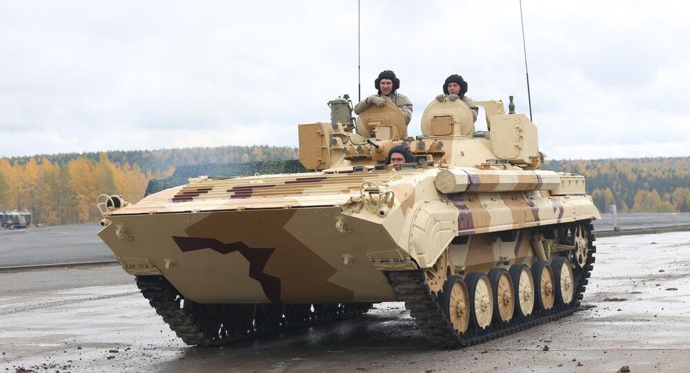 Poste de reconnaissance mobile PRP-4A Argus