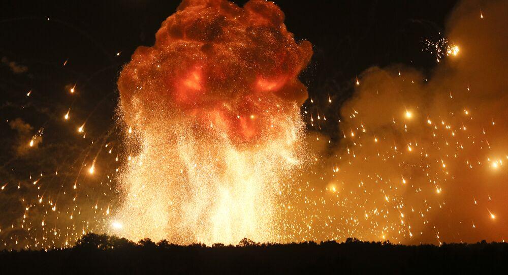 Explosion (image d'illustration)