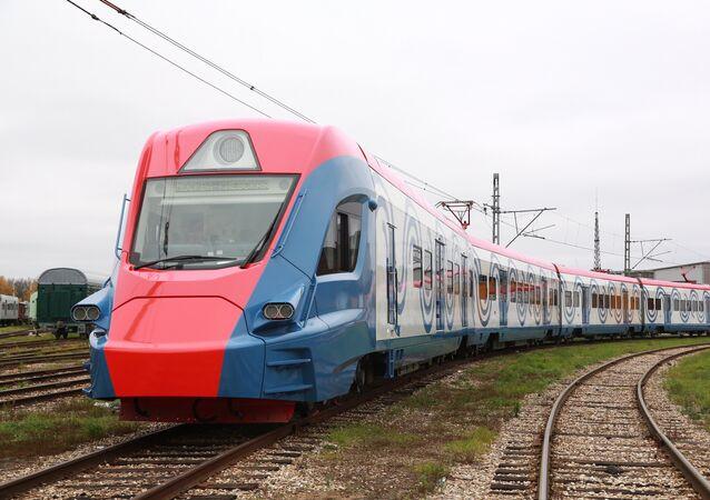 Le train interurbain Ivolga conçu par Transmashholding