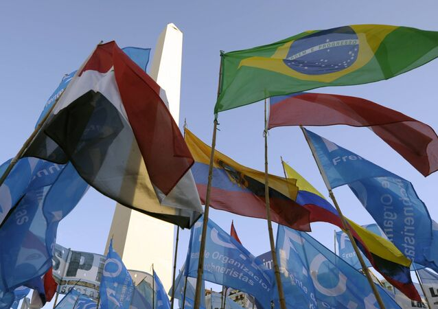 Drapeaux de Mercosur