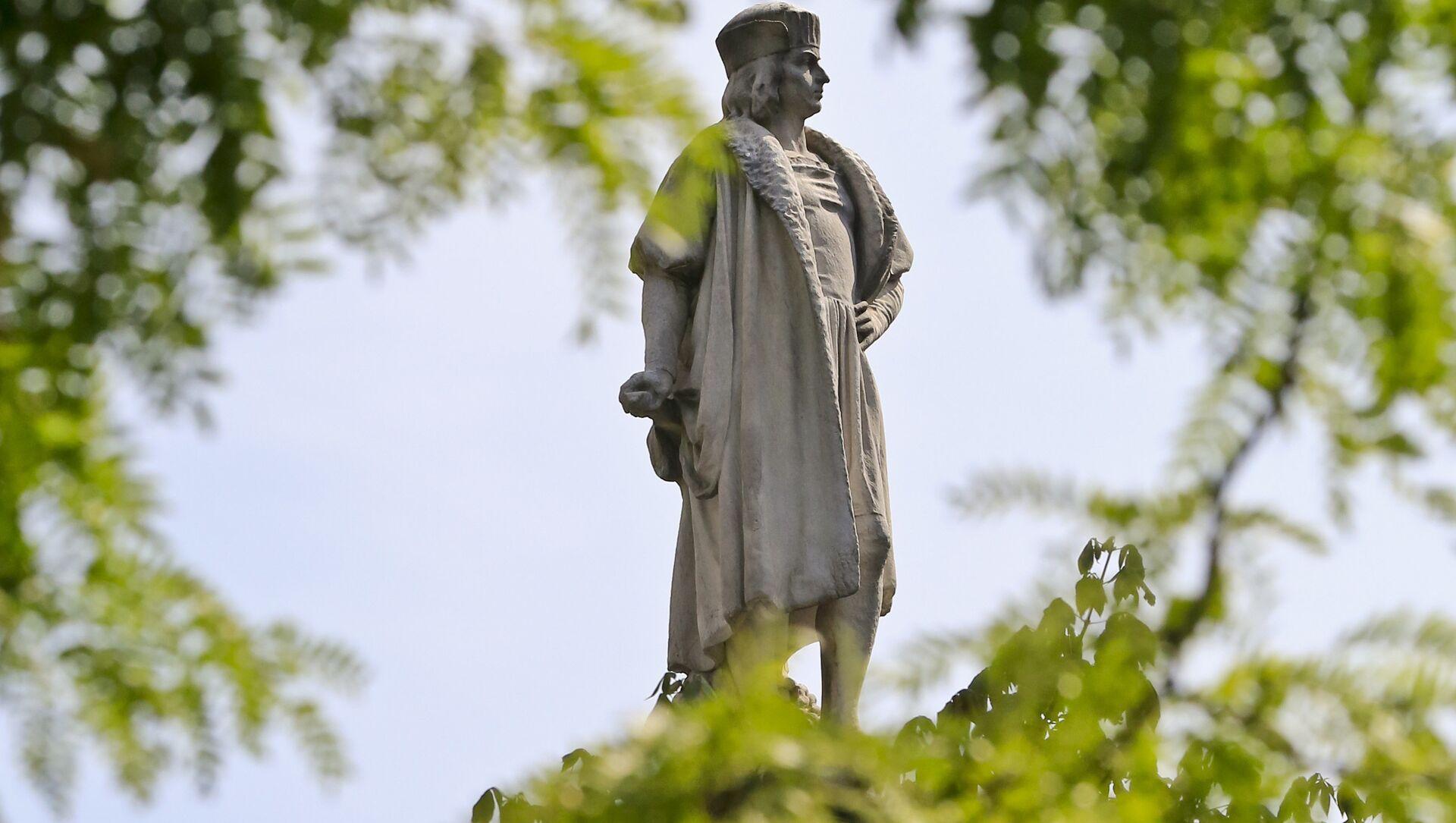Statue de Christophe Colomb à New York - Sputnik France, 1920, 06.09.2021