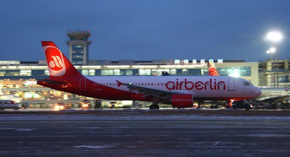 Un avion d'Air Berlin