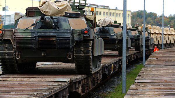 Le char M1A2 Abrams - Sputnik France