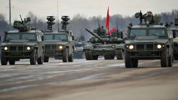 des véhicules blindés de type Tigre - Sputnik France