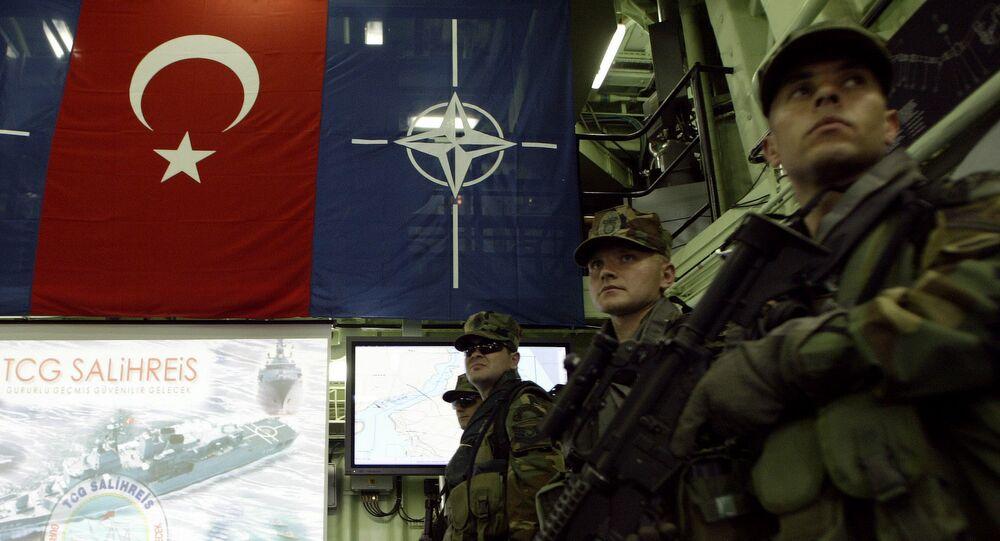 Des membres de la Marine turque (image d'illustrtion)