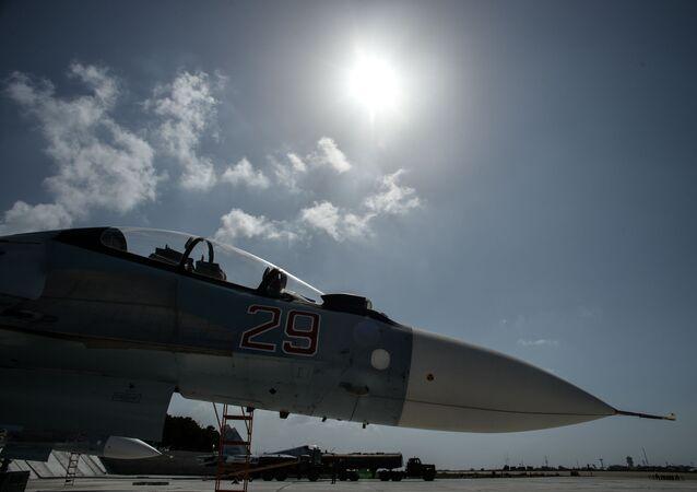 Un Su-30 russe en Syrie