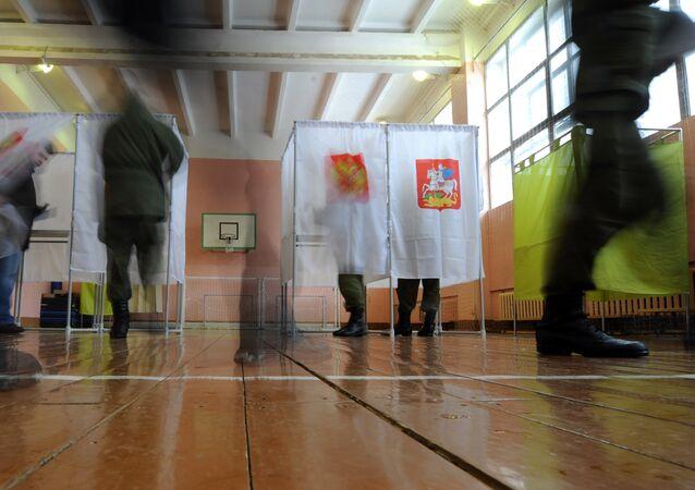 élections en Russie