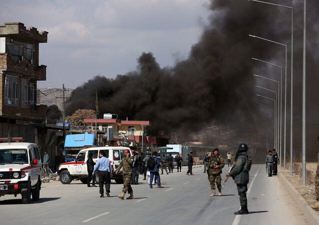 Un attentat en Afghanistan