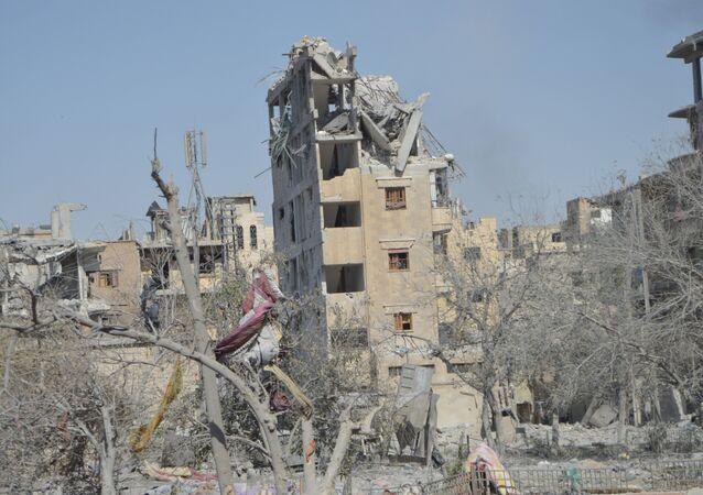 la ville de Raqqa