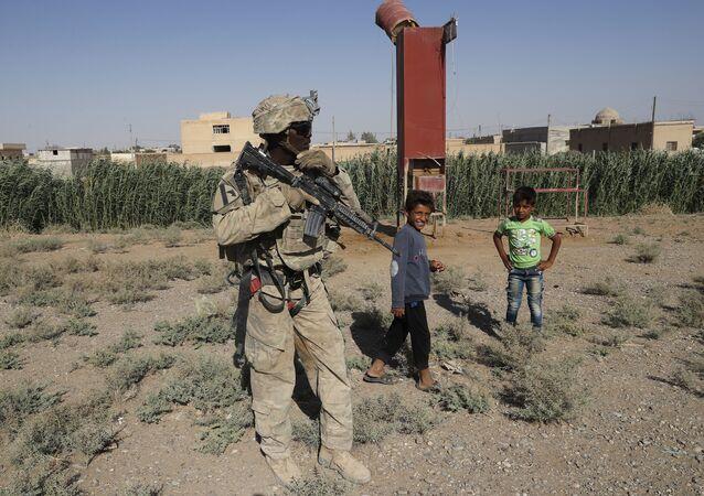 soldat US en Syrie