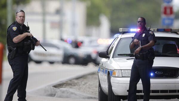 Officiers de police US (image d'illustration) - Sputnik France