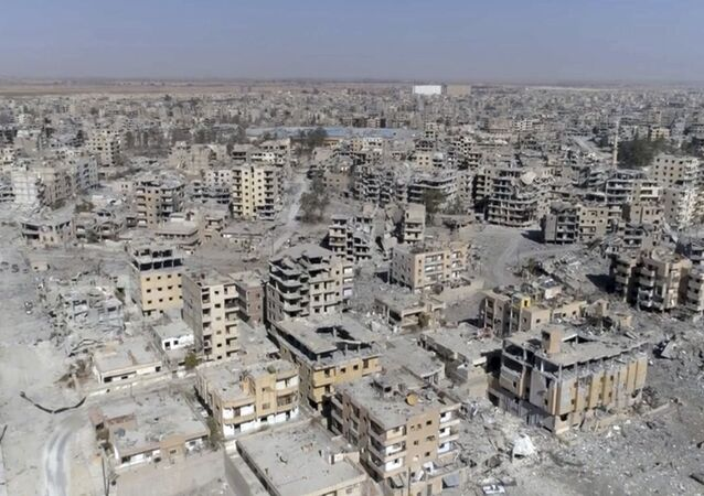 Destructions à Raqqa