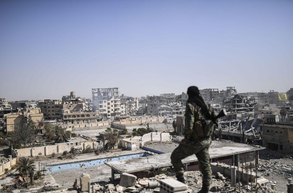 Les ruines de Raqqa