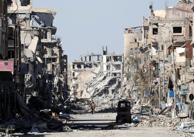 Raqqa en octobre 2017