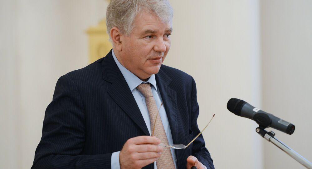 Alexeï Mechkov, L'ambassadeur de Russie en France