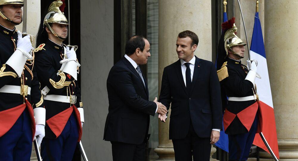La visite du Président égyptien en France indigne les ONG