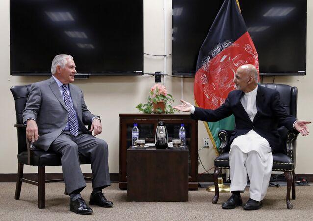 Rex Tillerson et Ashraf Ghani