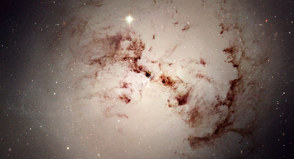 la galaxie NGC 1316