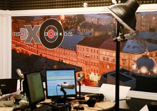 La radio Echo de Moscou