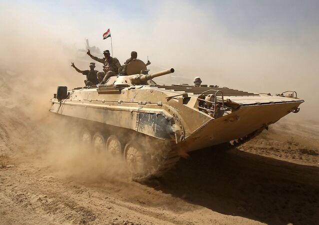 Soldats irakiens, image d'illustration