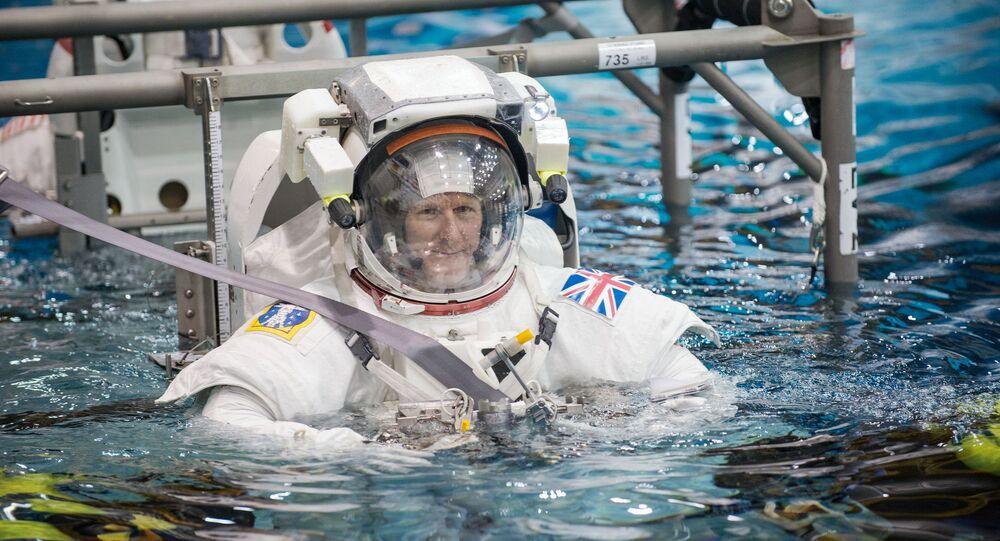 European Space Agency astronaut Timothy Peake
