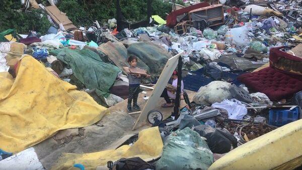 A Paris, un bidonville de Roms à quelques jours d'une énième expulsion - Sputnik France