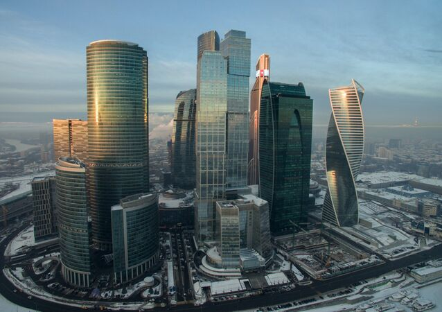 Le quartier d'affaires Moscow City